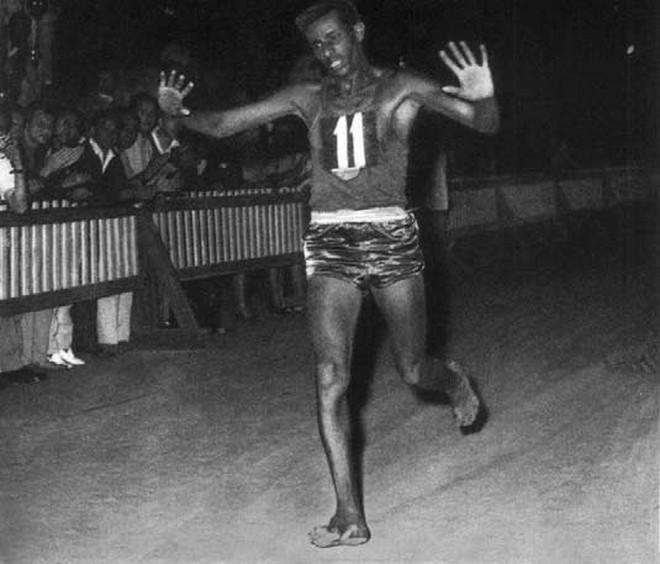 """Abebe Bikila, """"La flecha de ébano"""""""