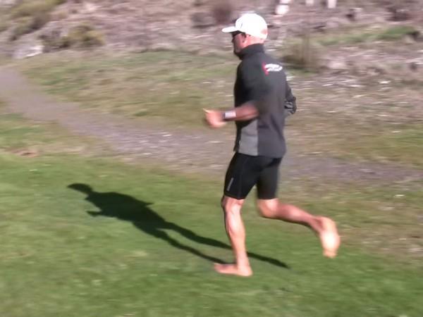 Cómo correr descalzo o minimalista en la naturaleza - Fase de apoyo