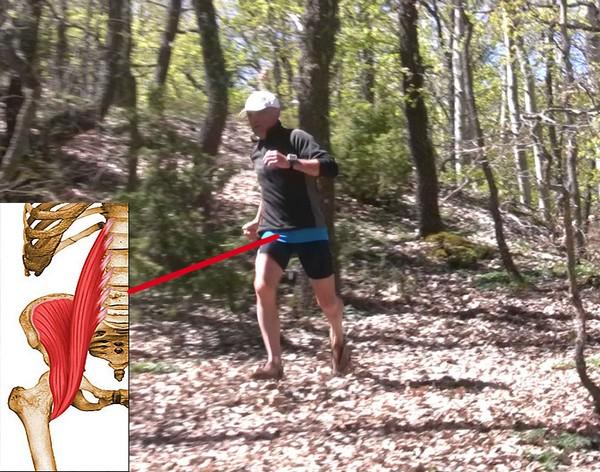 Cómo correr descalzo o minimalista en la naturaleza - Psoas Iliaco