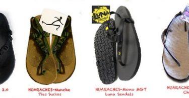 Huaraches: Análisis comparativo de 4 modelos