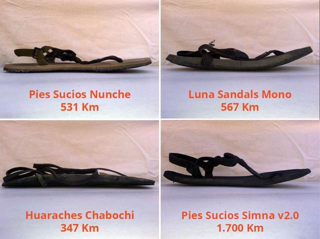 Huaraches Curvatura 4 Modelos