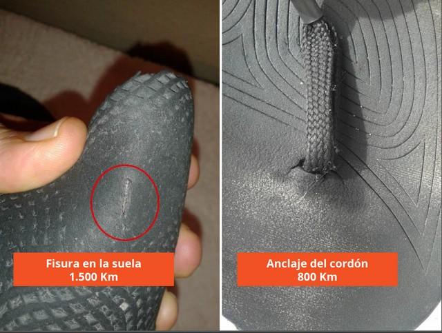 Huaraches Simna v2.0 - Problemas