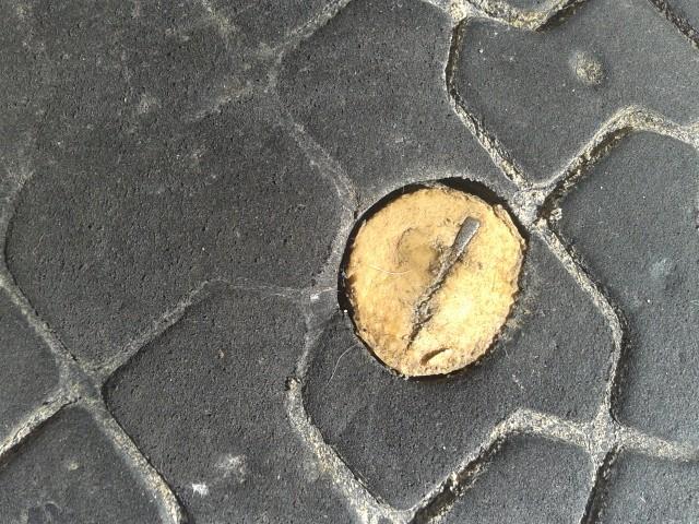 Luna Sandals Mono 1700 km - Botón