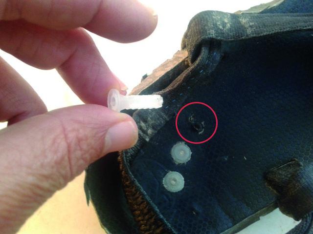 Luna Sandals Mono - Reparación de la suela