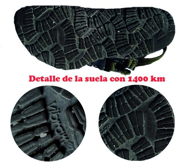Pies Sucios Nunche 1400 km