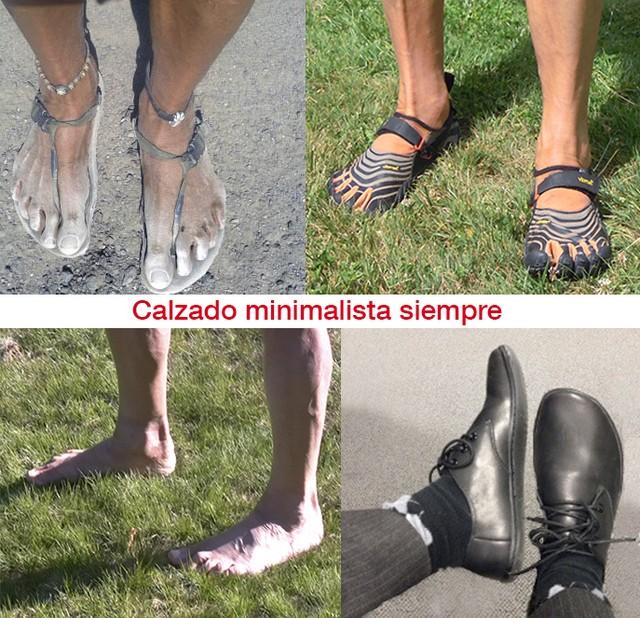 Calzado minimalista siempre