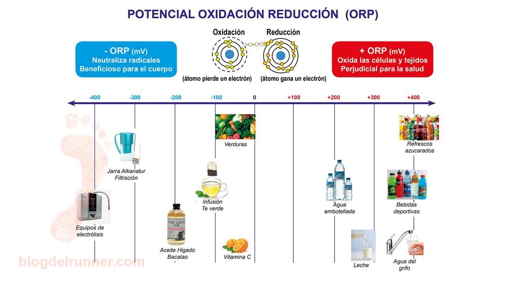 Potencial Reducción-Oxidación e Hidratación Alcalina