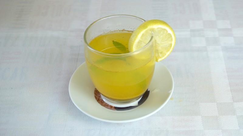 Cómo elaborar Té verde con Cúrcuma
