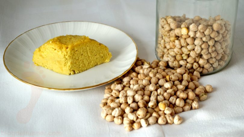 Vegan Chickpea Cheese - Properties and how to make it
